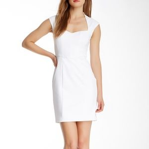 Catherine Malandrino Nina Lace Back White Dress 4